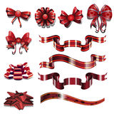Ribbons pack Stock Image