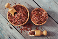 Red rice Stock Photo