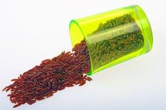 Red rice. Stock Photo