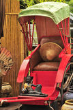 Red Rickshaw Stock Photography