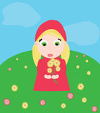 Red ridding hood Royalty Free Stock Image