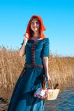 Red Riding  hood Stock Image