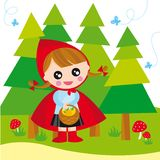 red riding hood Royalty Free Stock Photography