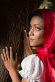 Red riding hood Royalty Free Stock Photos