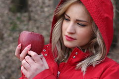 Red riding hood Royalty Free Stock Images