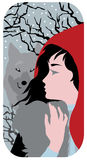 Red Riding Hood illustration Stock Photography