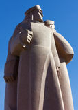The Red Riflemen Monument in Riga Royalty Free Stock Photos