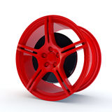 Red rim Stock Photo