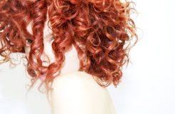 Red Ringlets Royalty Free Stock Photography