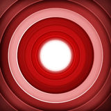 Red rings digital target Stock Photography