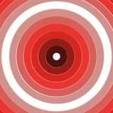 Red Rings Target Background Stock Photography