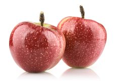 Red ripe apple Royalty Free Stock Photo