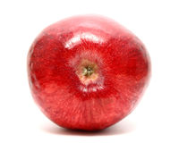 Red ripe apple isolated on a white background Stock Photo