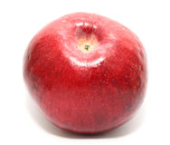 Red ripe apple isolated on a white background Stock Photos