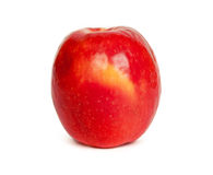 Red ripe apple Stock Images