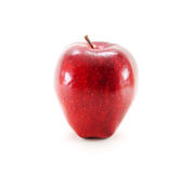 Red ripe apple Royalty Free Stock Photos