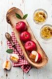 Red ripe apples Stock Photos