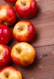Red ripe apples Royalty Free Stock Photo