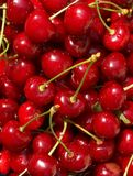 Red-ripe cherry Royalty Free Stock Photography