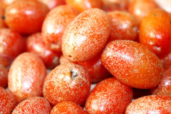 Red ripe fruits Royalty Free Stock Photography