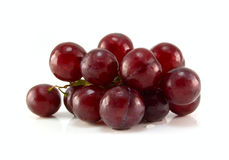 Red ripe grape Stock Photos