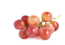 Red ripe grapes Stock Photography