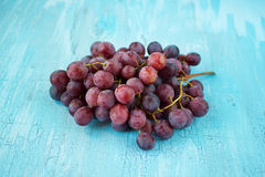 Red ripe grapes Royalty Free Stock Photo