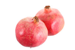 Red ripe pomegranate. Royalty Free Stock Image