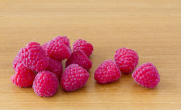 Red ripe raspberries Royalty Free Stock Photo