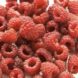 Red ripe raspberry Stock Photography
