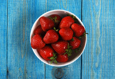 Red ripe strawberries Royalty Free Stock Photography