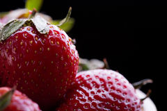Red Ripe Strawberry Royalty Free Stock Photography
