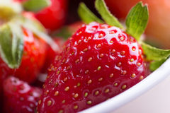 Red Ripe Strawberry Royalty Free Stock Image