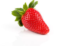 Red ripe strawberry fruits Royalty Free Stock Photo