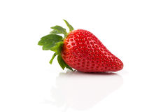 Red ripe strawberry fruits Royalty Free Stock Photography