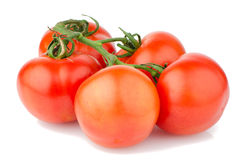 Red ripe tomato Stock Photo