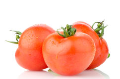 Red ripe tomato Stock Photos