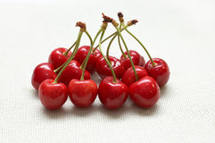 Red riped cherry Royalty Free Stock Photography