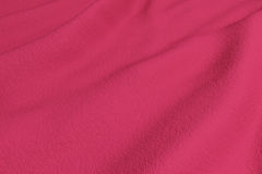 Red rippled fabric Royalty Free Stock Photo