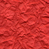 Red rippled paper Stock Photo