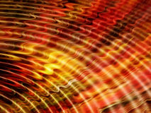 Red ripples Royalty Free Stock Photos