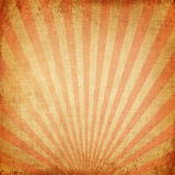 Red rising sun or sun ray Stock Images