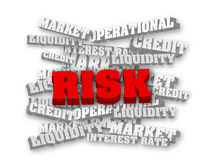 Red risk Stock Photo