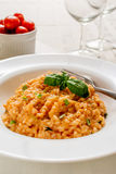 Red risotto Stock Photo