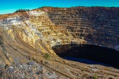 Red River минирует del rio Tinto мин Стоковое Изображение RF
