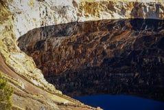 Red River минирует del rio Tinto мин Стоковая Фотография