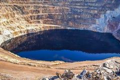 Red River минирует del rio Tinto мин Стоковое Изображение