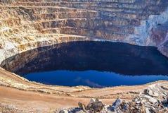 Red River минирует del rio Tinto мин Стоковое Фото