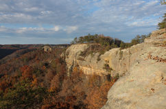 Red River Gorge Fall Colors royalty free stock photography