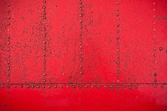 Red rivet background Royalty Free Stock Photos